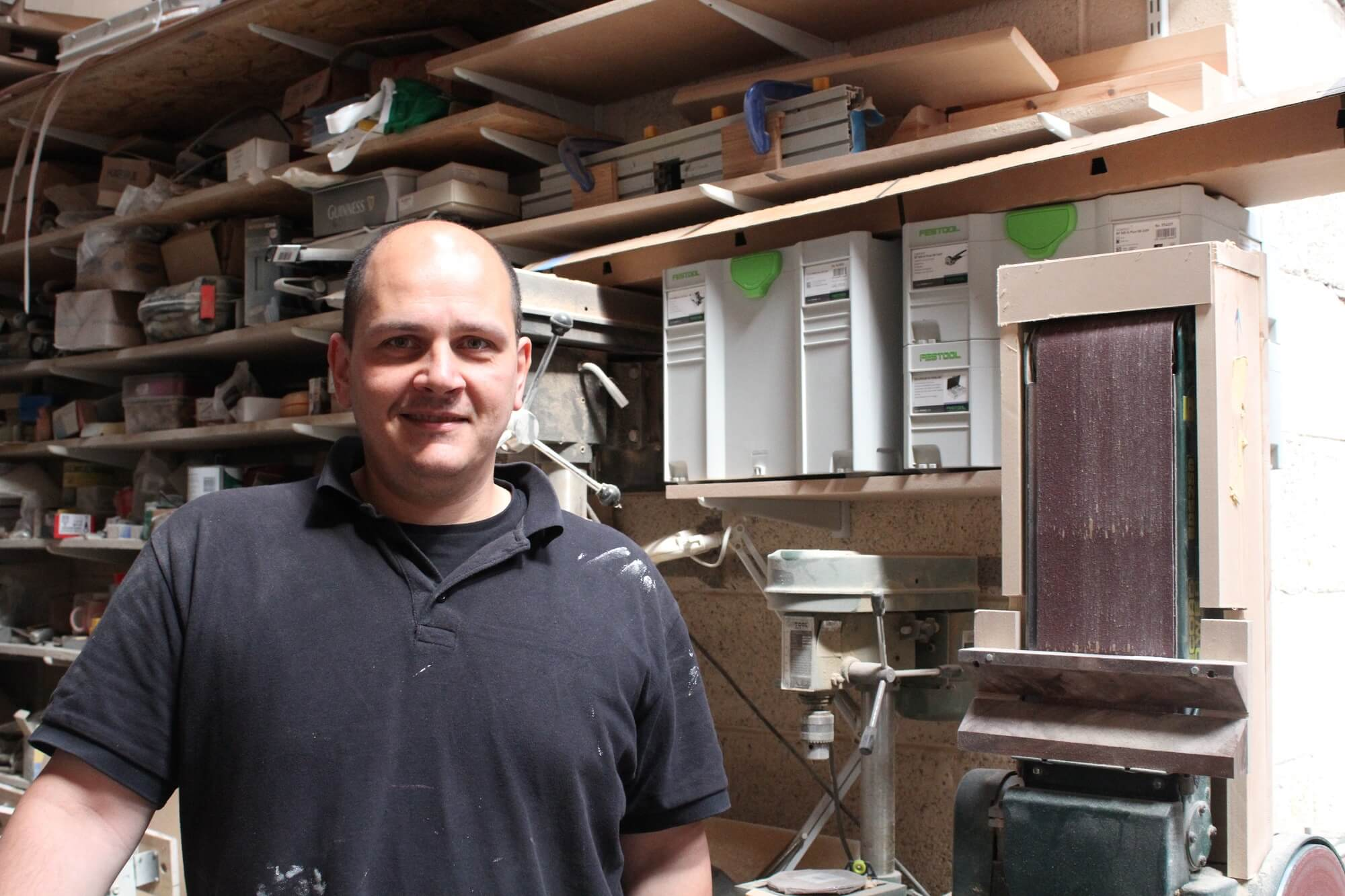 South Yorkshire craftsman carves out new business focus