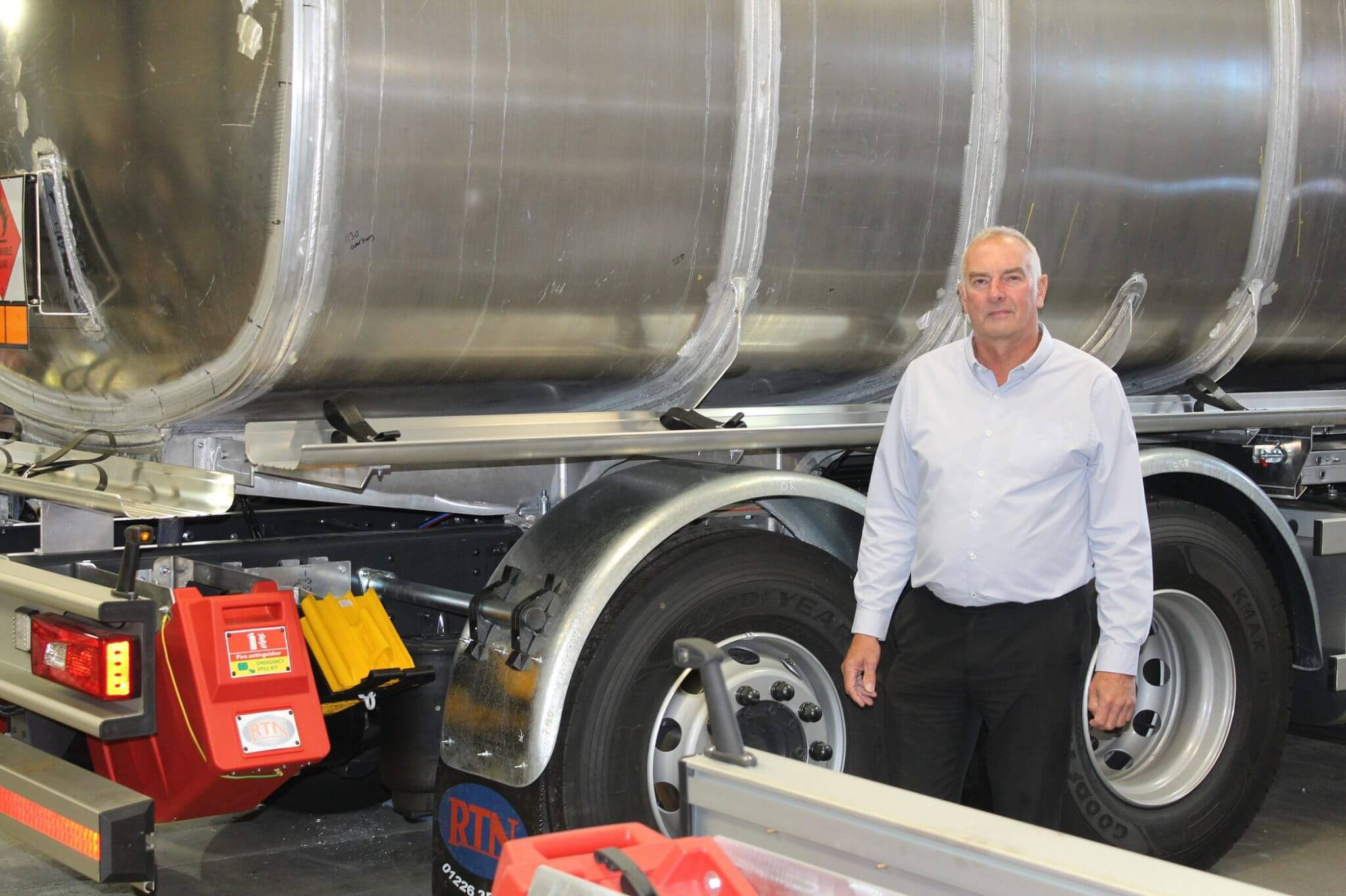 UK's leading road tankers manufacturer expands business in Barnsley
