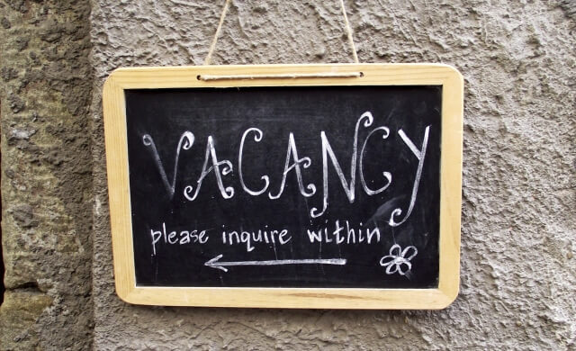 Vacancy please enquire within on blackboard