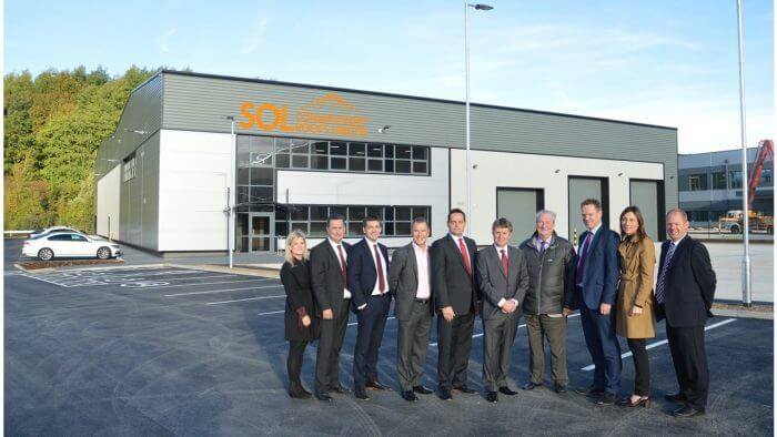 Marshalls Complete Two New Buildings at Capitol Park, Barnsley
