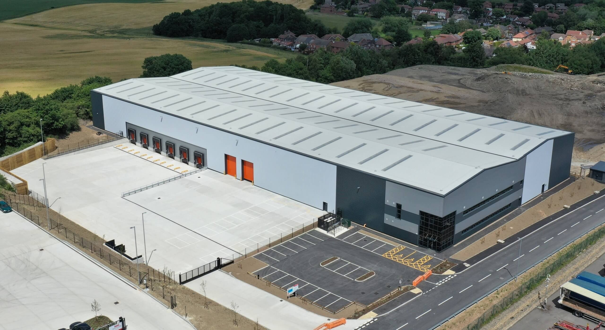 Construction completes on 77,800 speculative unit in Barnsley
