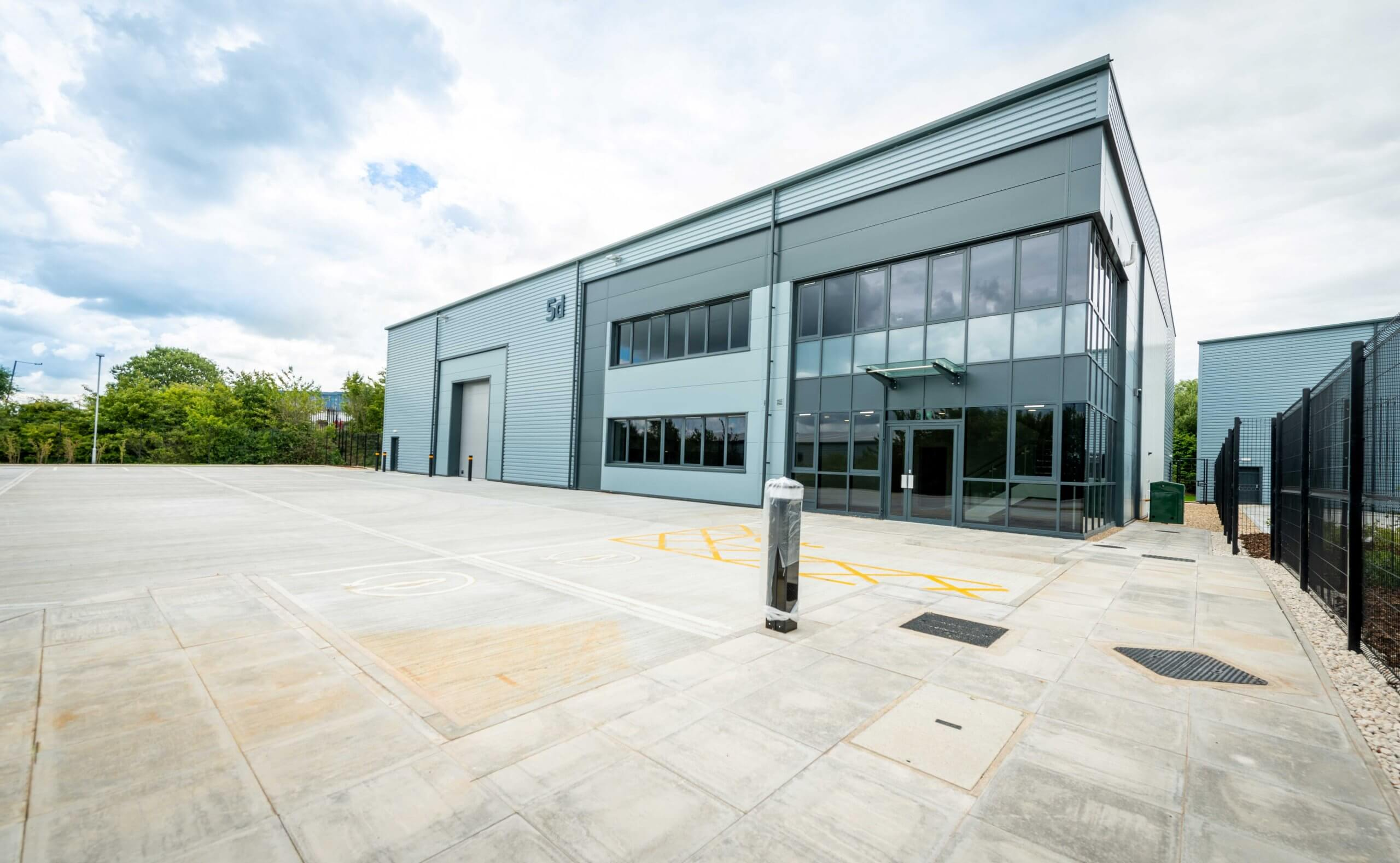 NETWORK SPACE COMPLETES BUILD OF FIVE SPECULATIVE INDUSTRIAL UNITS IN SOUTH YORKSHIRE