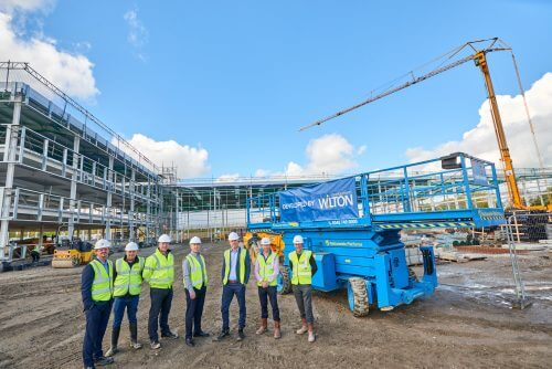 New HQ building takes shape for multiple services provider