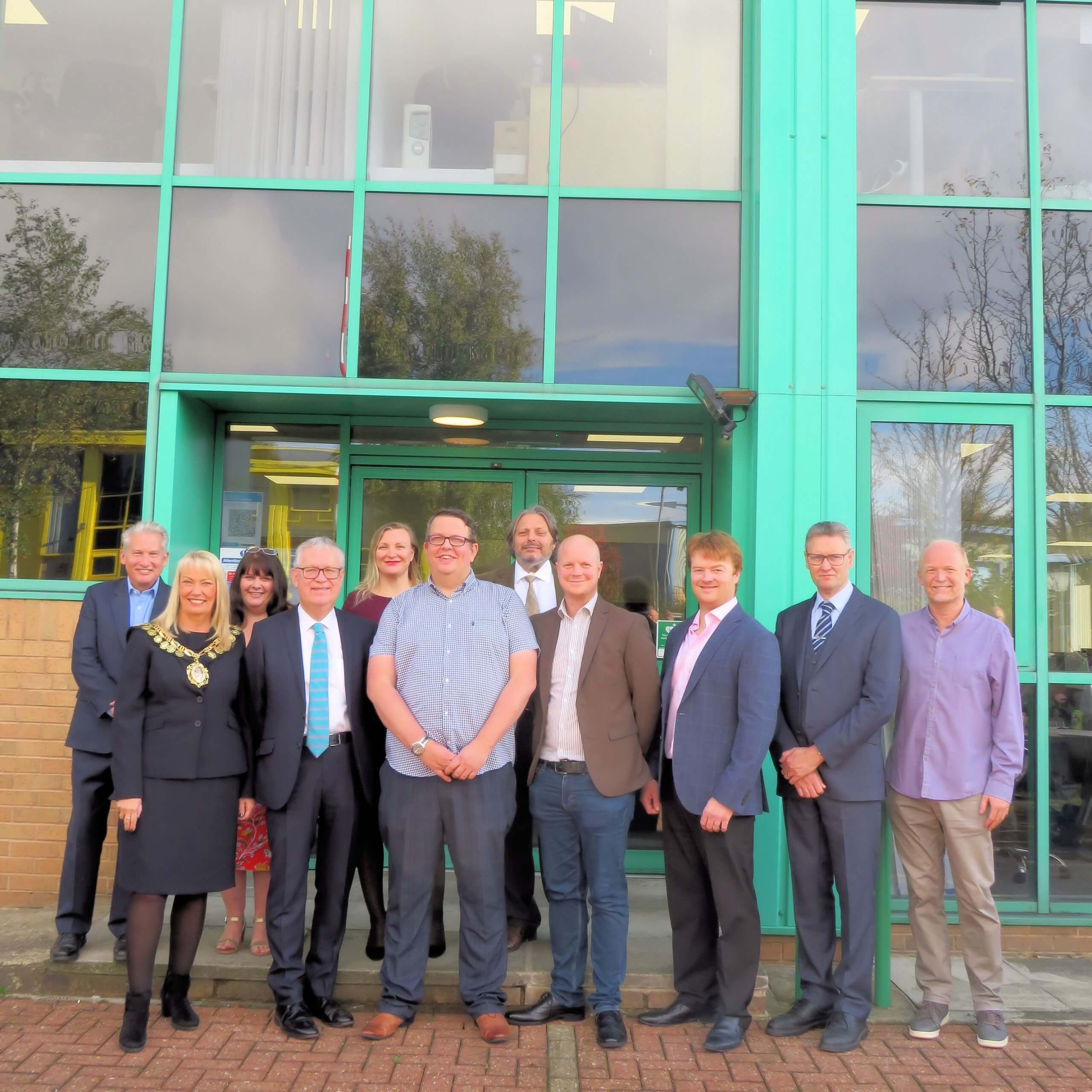 Specialist manufacturing firm opens new office and creates jobs in Barnsley