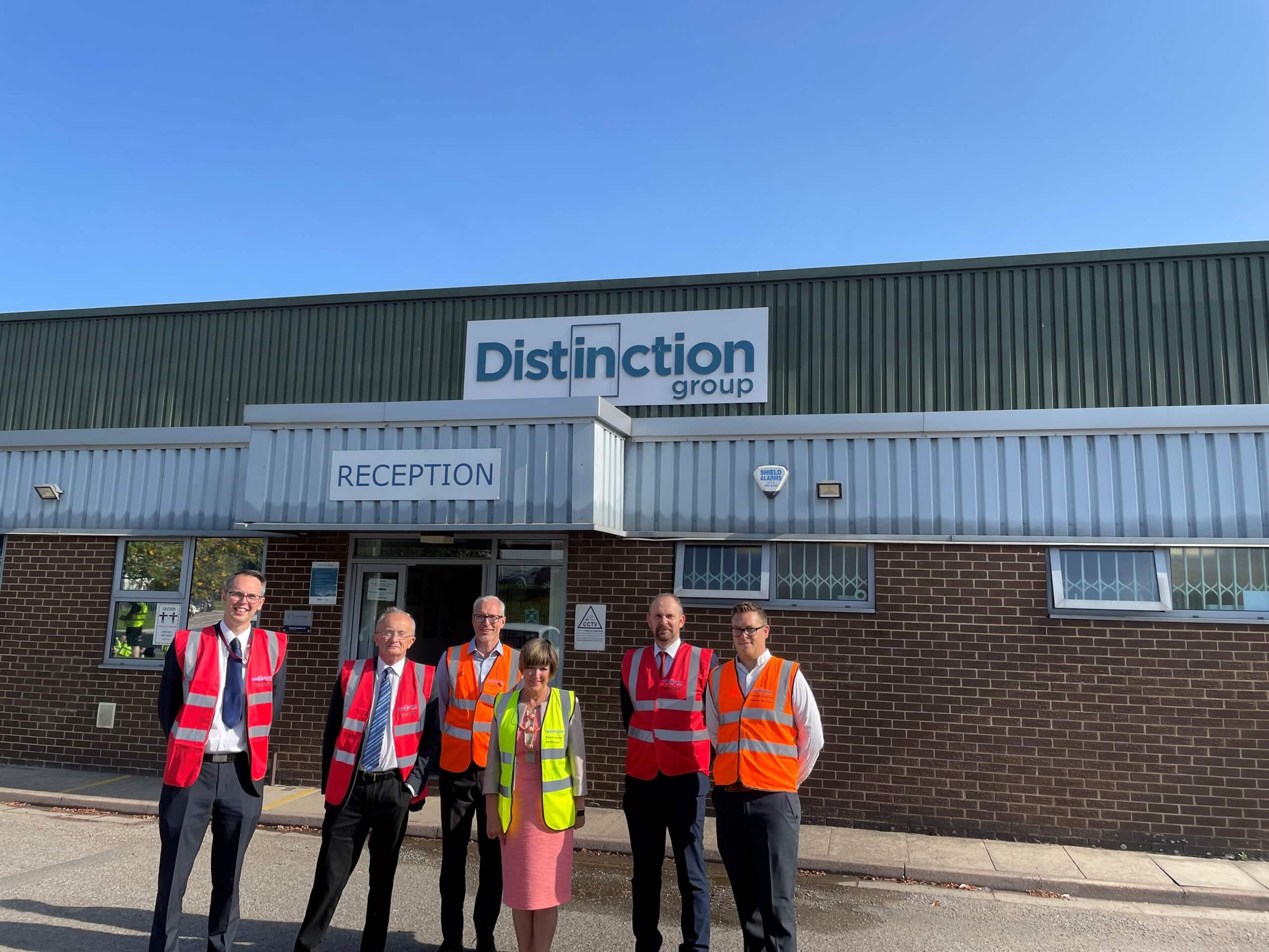 Barnsley's Distinction Doors moves from warehousing to manufacturing with creation of over 40 jobs in the last three years.